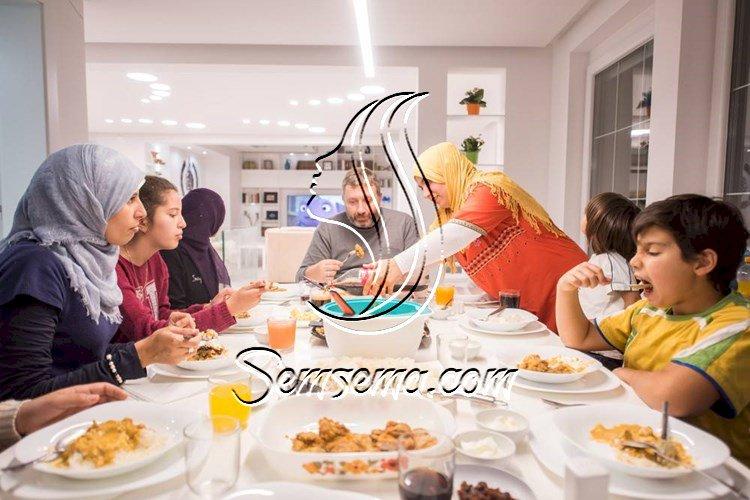 اتيكيت العزومات في رمضان