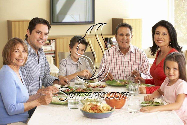 آداب المائدة الرمضانية