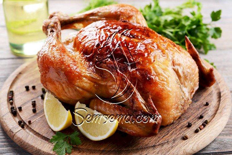 طريقة تحضير دجاج مشوي في الفرن