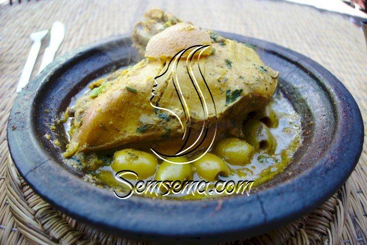 دجاج على الطريقة المغربية
