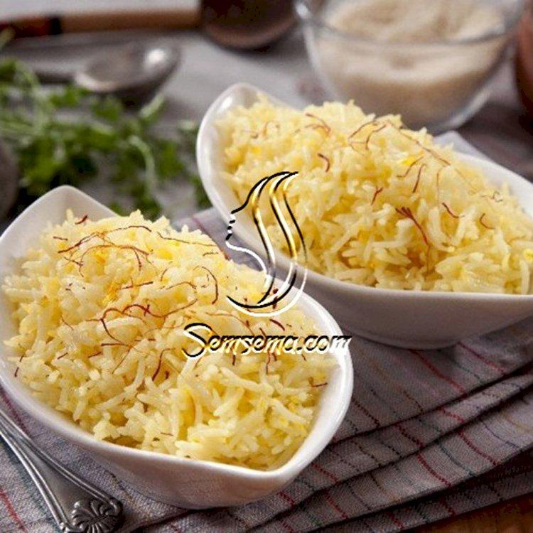 الرز بالزعفران والكريمة من مطبخ منال العالم